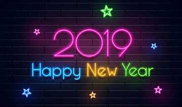 Happy New Year 2019 is here