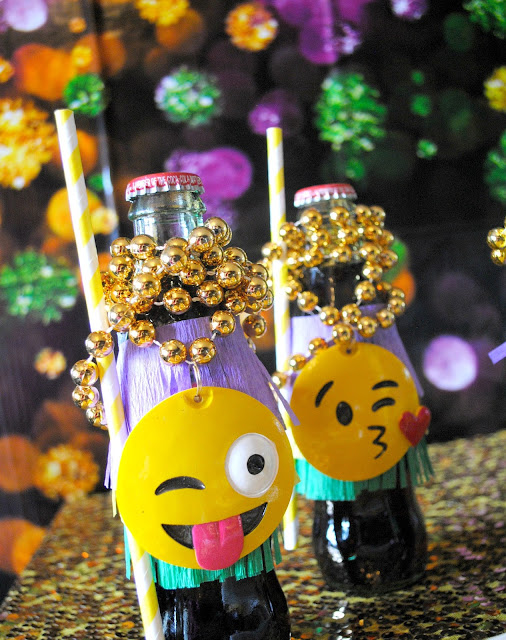 Coca-cola goes Mardi Gras at an emojinal party by Fizzy Party