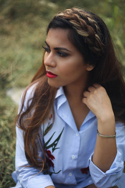 90's fashion, milkmaid braids, embroidered dresses, shirt dress, strip shirt dress, how to style shirt dress, vintage  fashion, delhi fashion blogger, zaful, winter fashion trends 2016, beauty , fashion,beauty and fashion,beauty blog, fashion blog , indian beauty blog,indian fashion blog, beauty and fashion blog, indian beauty and fashion blog, indian bloggers, indian beauty bloggers, indian fashion bloggers,indian bloggers online, top 10 indian bloggers, top indian bloggers,top 10 fashion bloggers, indian bloggers on blogspot,home remedies, how to