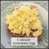 Scrambled Egg on Toast with Title Overlaid