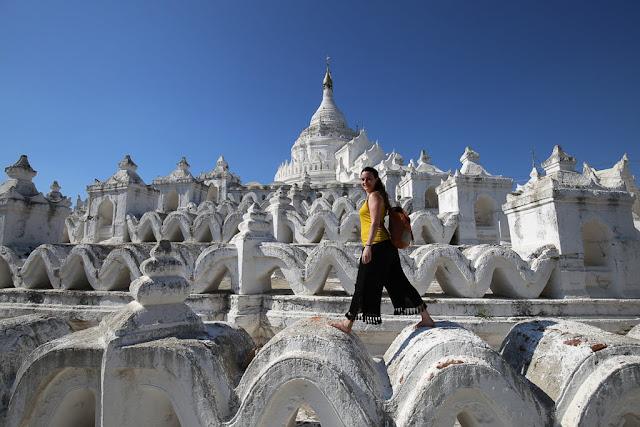 Pagoda Mya Thein Tan, Mingun, Myanmar