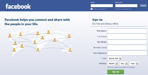 Facebook Login Sign In And Learn More