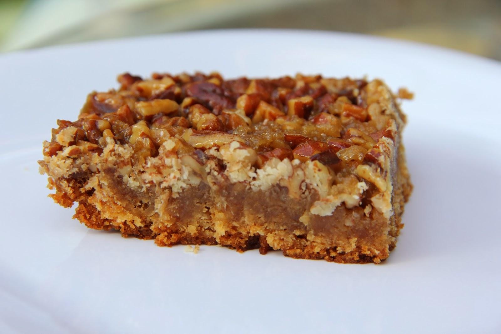 Pecan Pie Bars Using Cake Mix