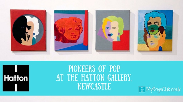 Pioneers of Pop at the Hatton Gallery, Newcastle University - newcastle the birthplace of pop art