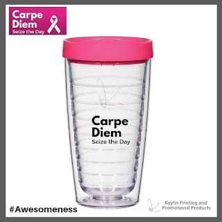 Pink Promotional Tumblers with Lid