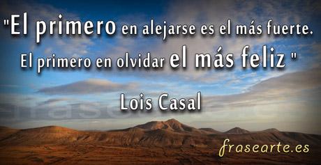 Frases célebres de Lois Casal
