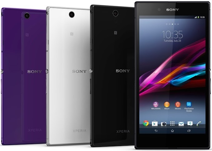 Sony Xperia Z Ultra Wi-Fi goes on sale in Japan
