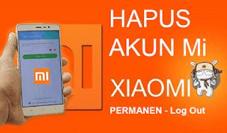 Cara Menghapus Akun Mi Cloud dan Logout di Xiaomi