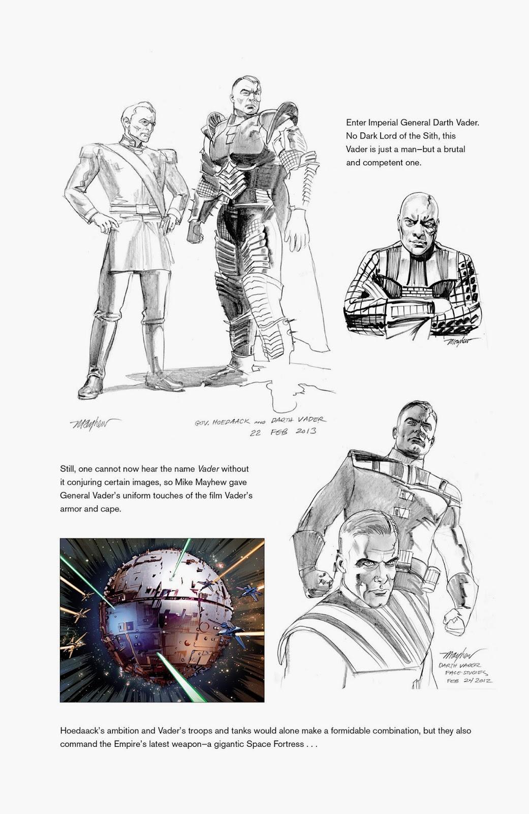L Impero Delle Tenebre The Star Wars Numero 0 Sketch E