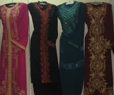 Trend Model Baju Gamis Muslimah Terbaru 2013