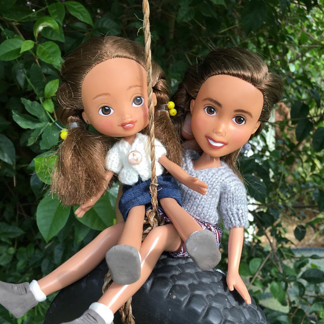 Natural Looking Doll Makeover