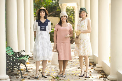 Éramos Seis: Gloria Pires apresenta irmãs de Lola, Clotilde e Olga