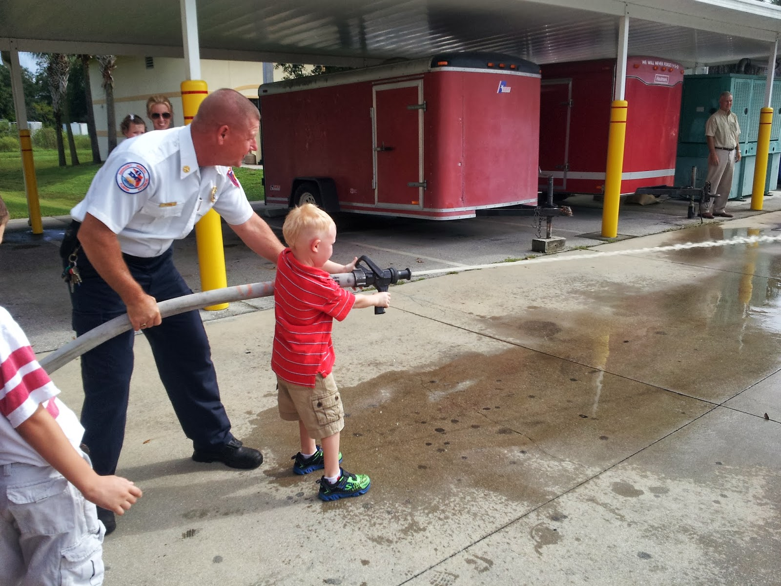 School Happenings Community Helpers Fire Fighters