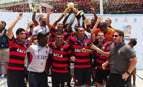 Vitória é campeão da Libertadores de Beach Soccer 2018