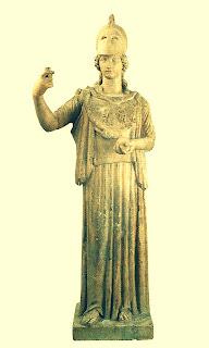 """Minerva"", Século I DC, no Museo Nacional de Arte Decorativo, Recoleta, Buenos Aires"