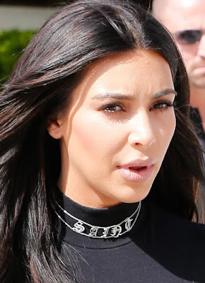 Kim Kardashian Saint Choker Necklace