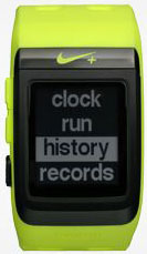 Nike Plus GPS Sport Watch history