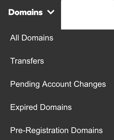 pending transfer on Godaddy