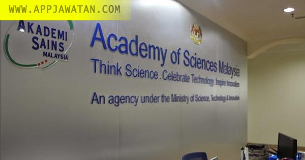 Jawatan Kosong di Akademi Sains Malaysia (ASM)