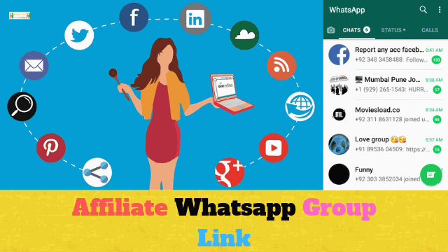 70+ Best Affiliate Whatsapp Group Link List Collection