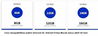 Paket internet sudah menjadi kebutuhan setiap smartphone yang kamu gunakan Cara mengaktifkan paket internet XL Hotrod Prima Murah masa aktif 30 hari