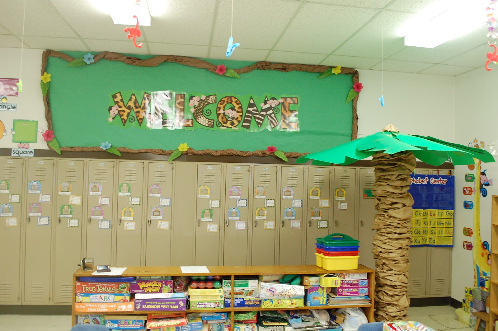 Forest Themed Classroom Decorations ~ My jungle themed classroom decor little warriors