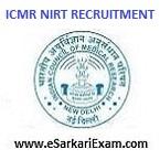 ICMR NIRT PA, Technician, UDC, Staff Nurse Recruitment