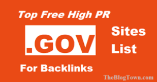 .gov sites to get free gov backlinks