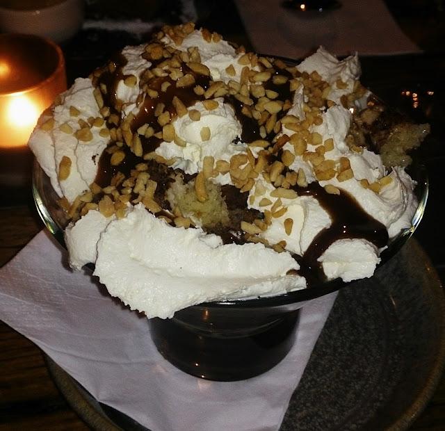 Palinka, Fitzroy, East European, dessert, somloi galuska