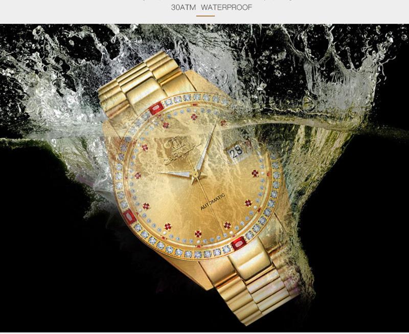 đồng hồ vàng chống nước