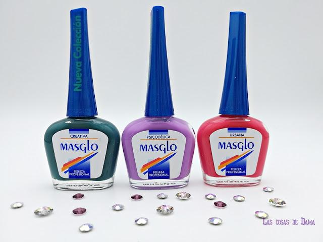 Colección Top Color Masglo uñas belleza manicura beauty nails nailart nailpolish