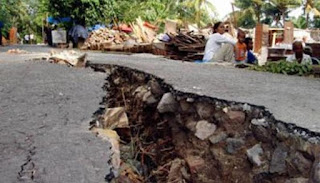 Pengertian dan Jenis Gempa Bumi serta Istilah-istilah terkait gempa bumi