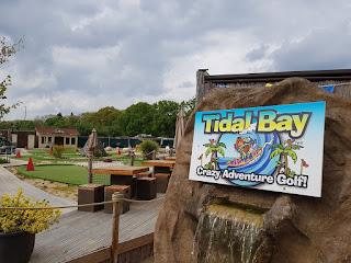Tidal Bay Crazy Adventure Golf in Sherfield on Loddon