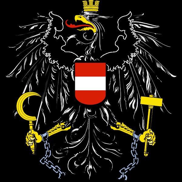 Logo Gambar Lambang Simbol Negara Austria PNG JPG ukuran 600 px