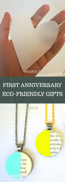 first anniversary paper gifts perfect experience and eco-friendly
