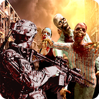 Dead Zombie Battle : Zombie Defense Warfare Unlimited (Money - Gold) MOD APK