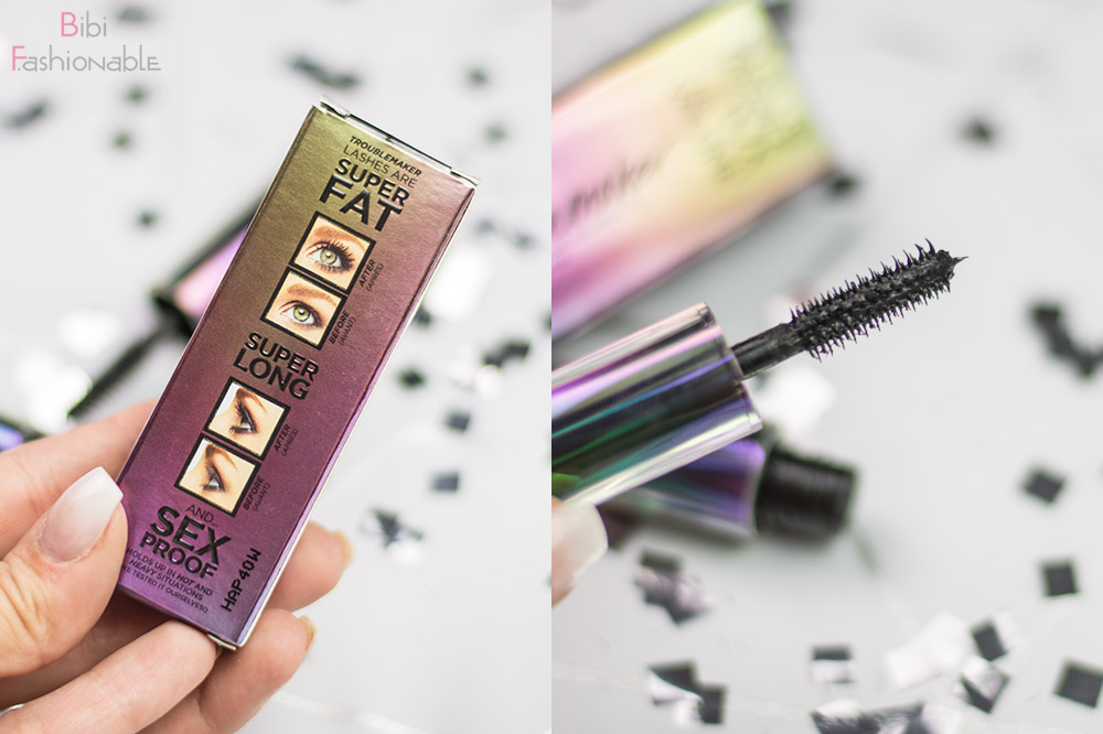 Urban Decay Troublemaker Mascara Travelsize Produktversprechen Bürstchen