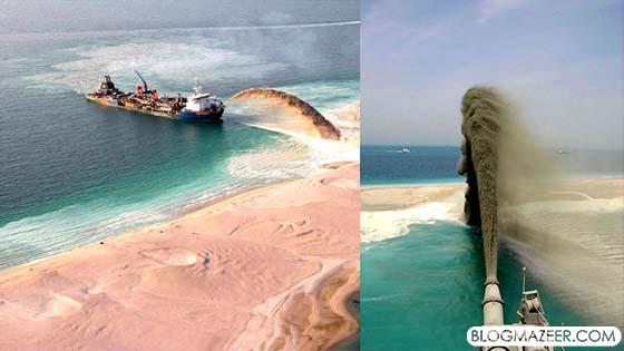 Cara Pulau Buatan Dibuat Di Negara Terkaya, Dubai Didedahkan