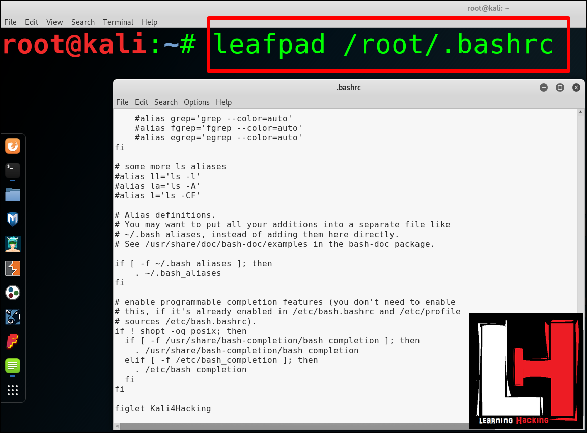 Kali 4 Hacking: What is Figlet? | How To Edit Terminal