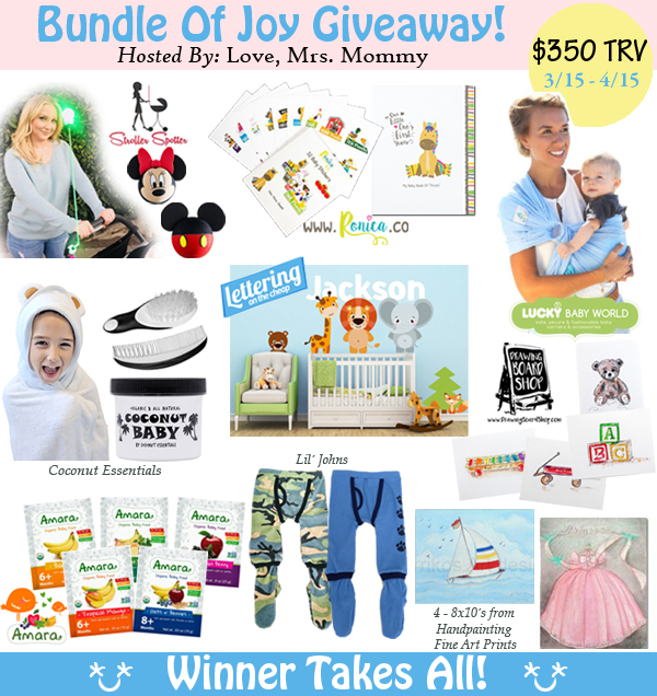 Bundle of Joy Giveaway! Ends 4/15