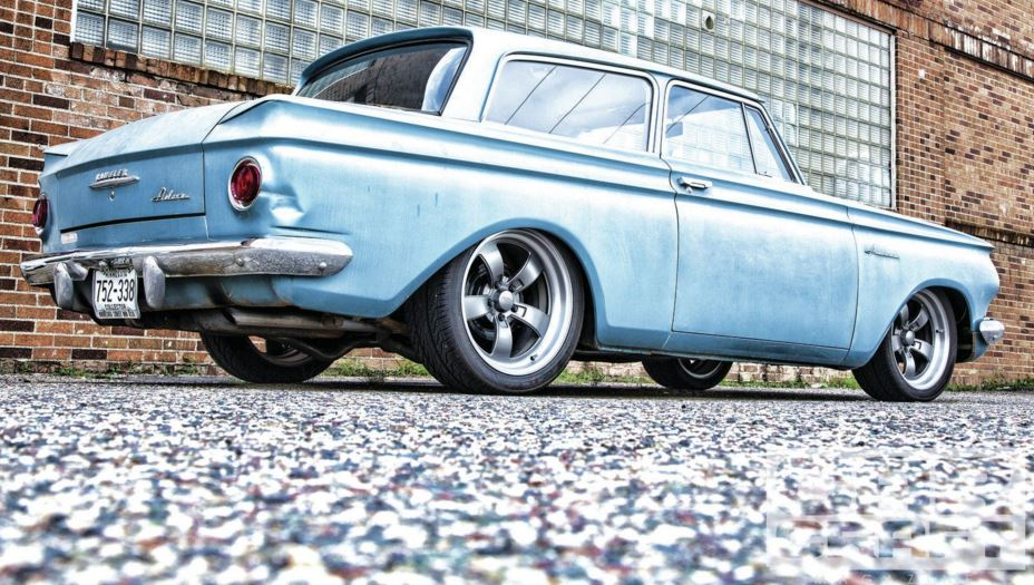Just A Car Guy: Kirby Wilcox's 1962 Scrambler, called that
