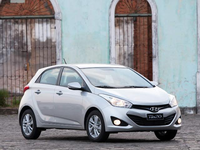 Hyundai HB20 2014 - segundo carro usado mais vendido 2016