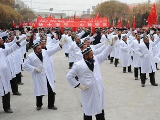 Desa Pengikis Muslim Uighur Buatan Pemerintah Cina di Xinjiang