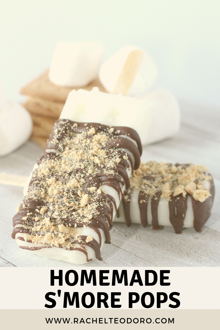 s'more pops you can make at home