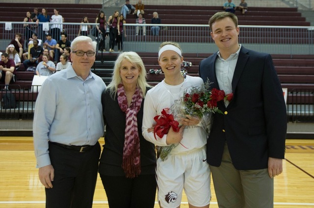 Family of Trinity University women's basketball player Kate Irvin