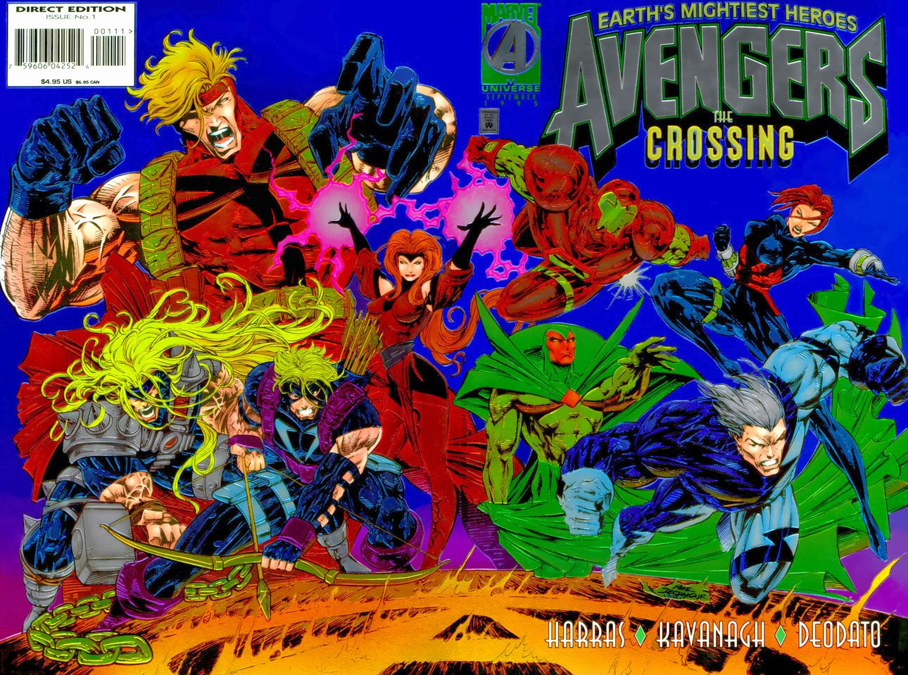 the crossing avengers