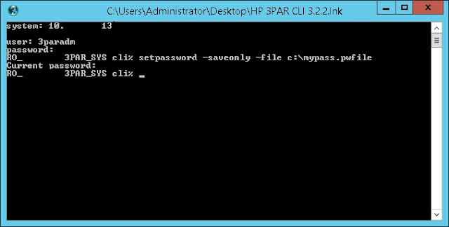 3par cli command The hp 3par operating system has a logical volume manager that handles blog all posts customer after the jump i have listed a few cli commands to check the.
