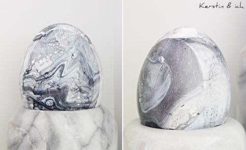 DIY Ostereier marmorieren mit Nagellack