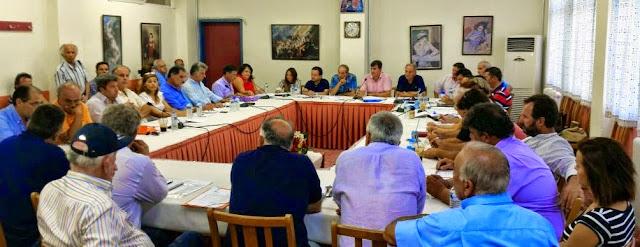 Συνεδριάζει το Δημοτικό Συμβούλιο στην Ερμιονίδα