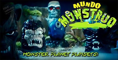 Mundo Monstruos World Monsters Playsets